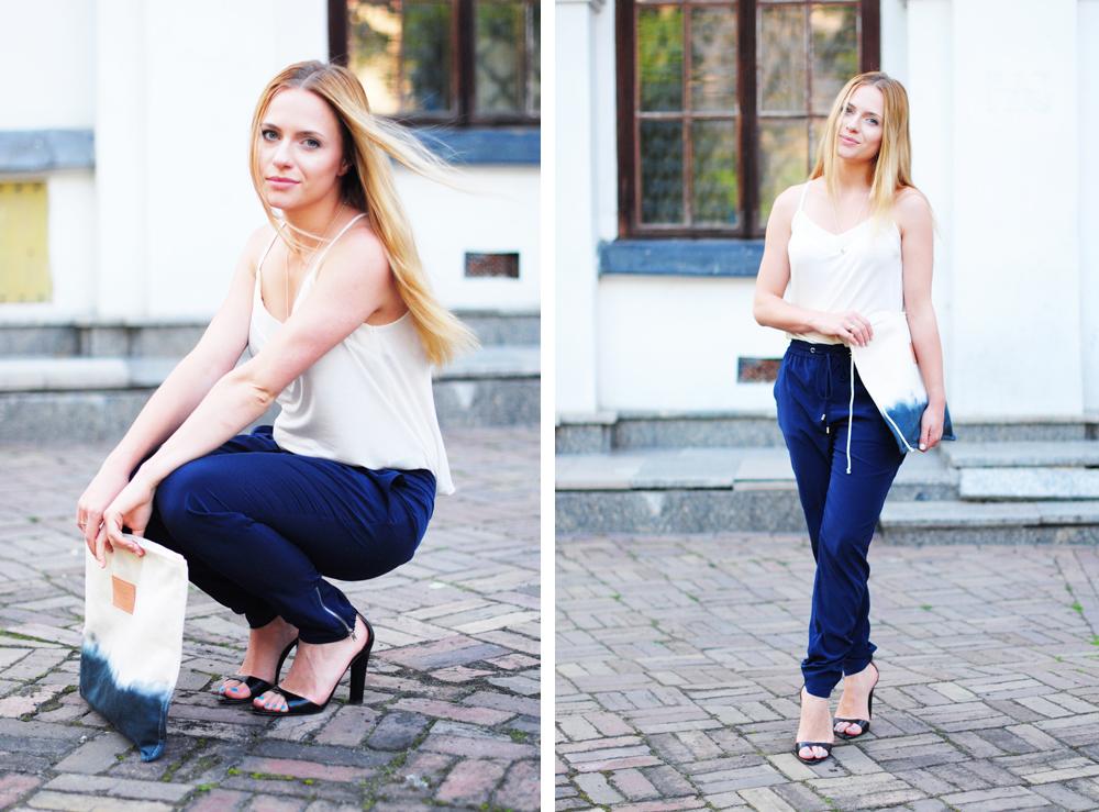 W spodniach, ale kobieco – miejska stylizacja