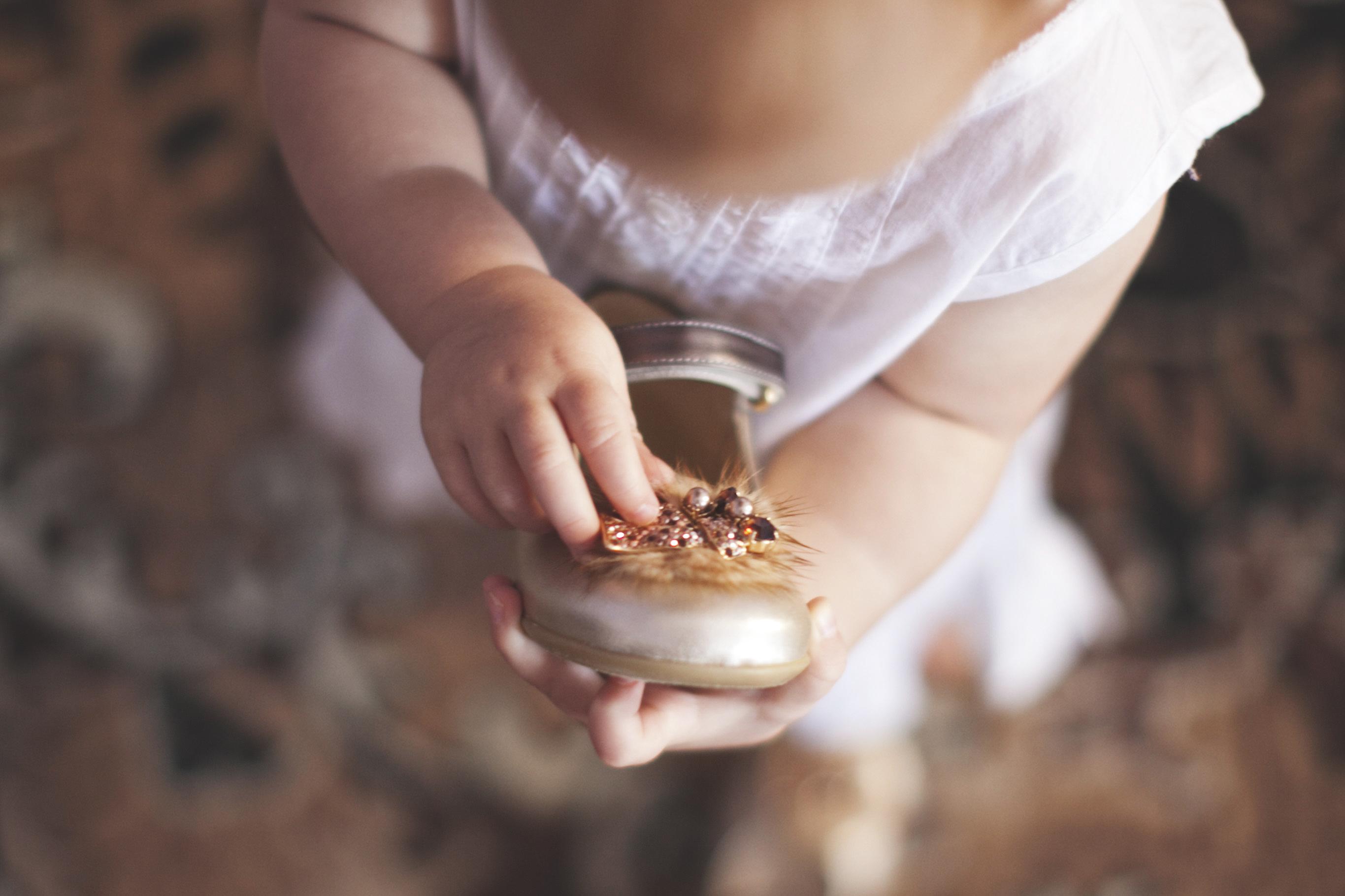 Złote trzewiki dla małej księżniczki