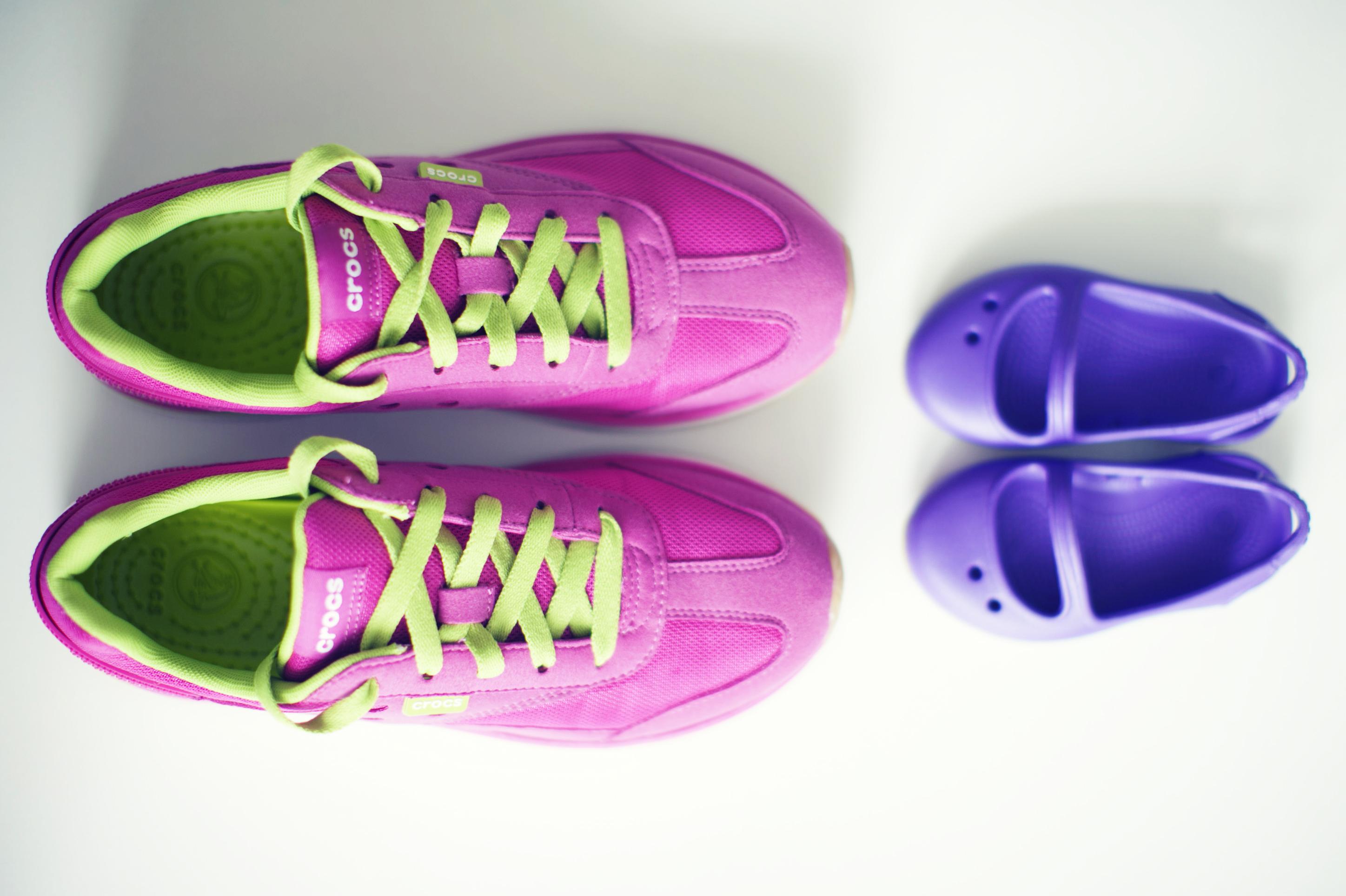 Jesień w różowych… adidasach