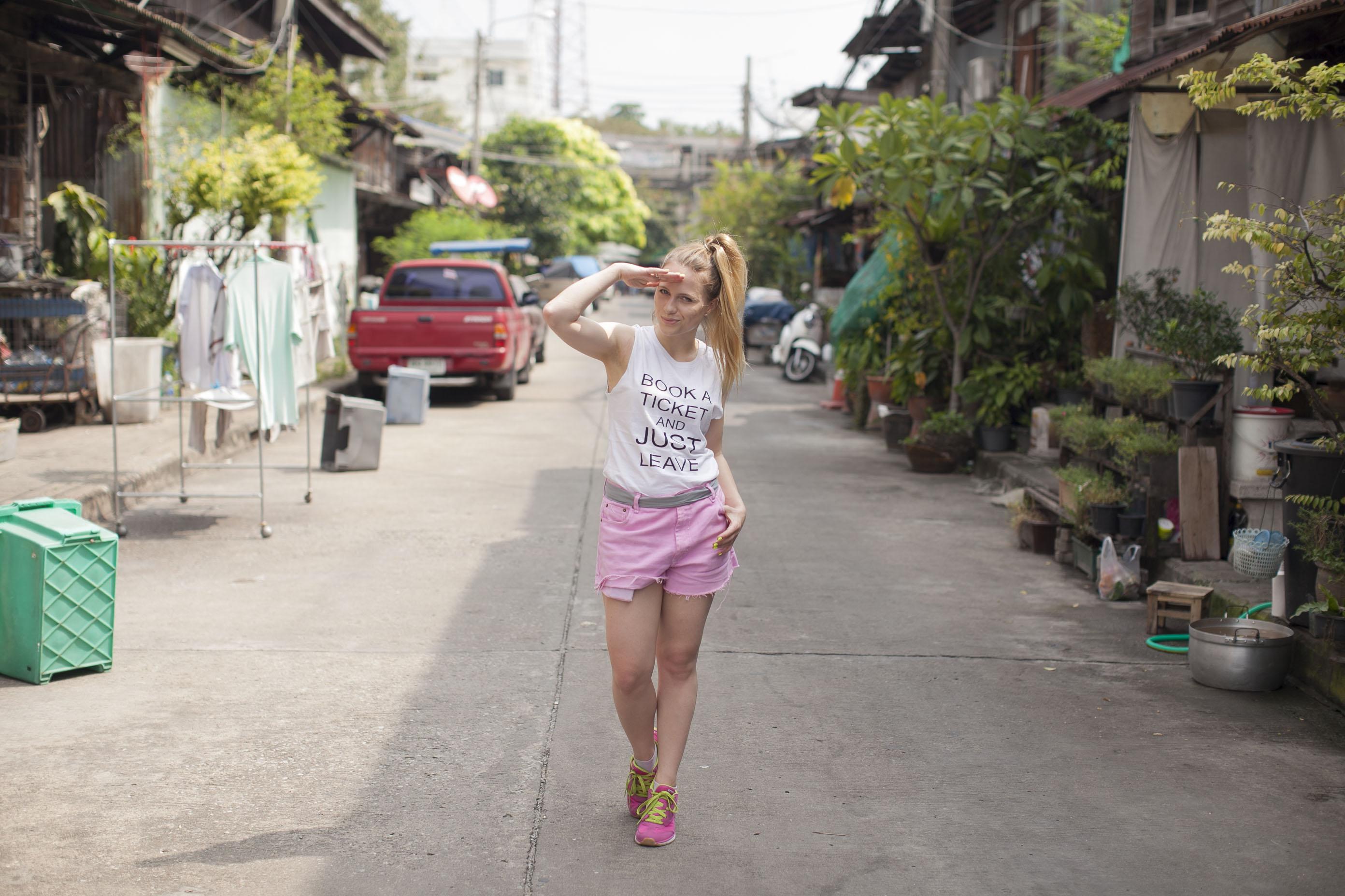 Pierwszy dzień w Bangkoku