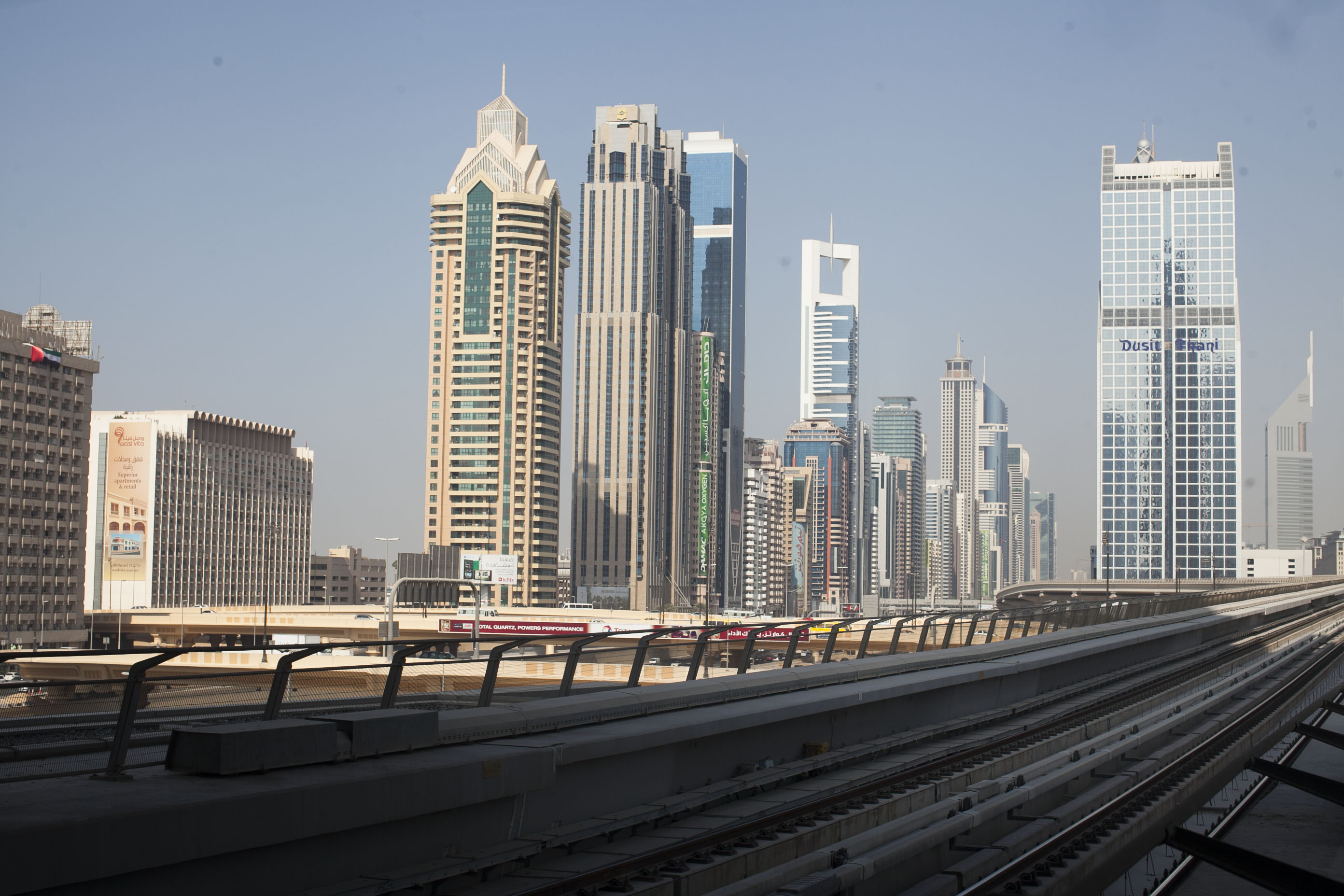 Poranek w Dubaju