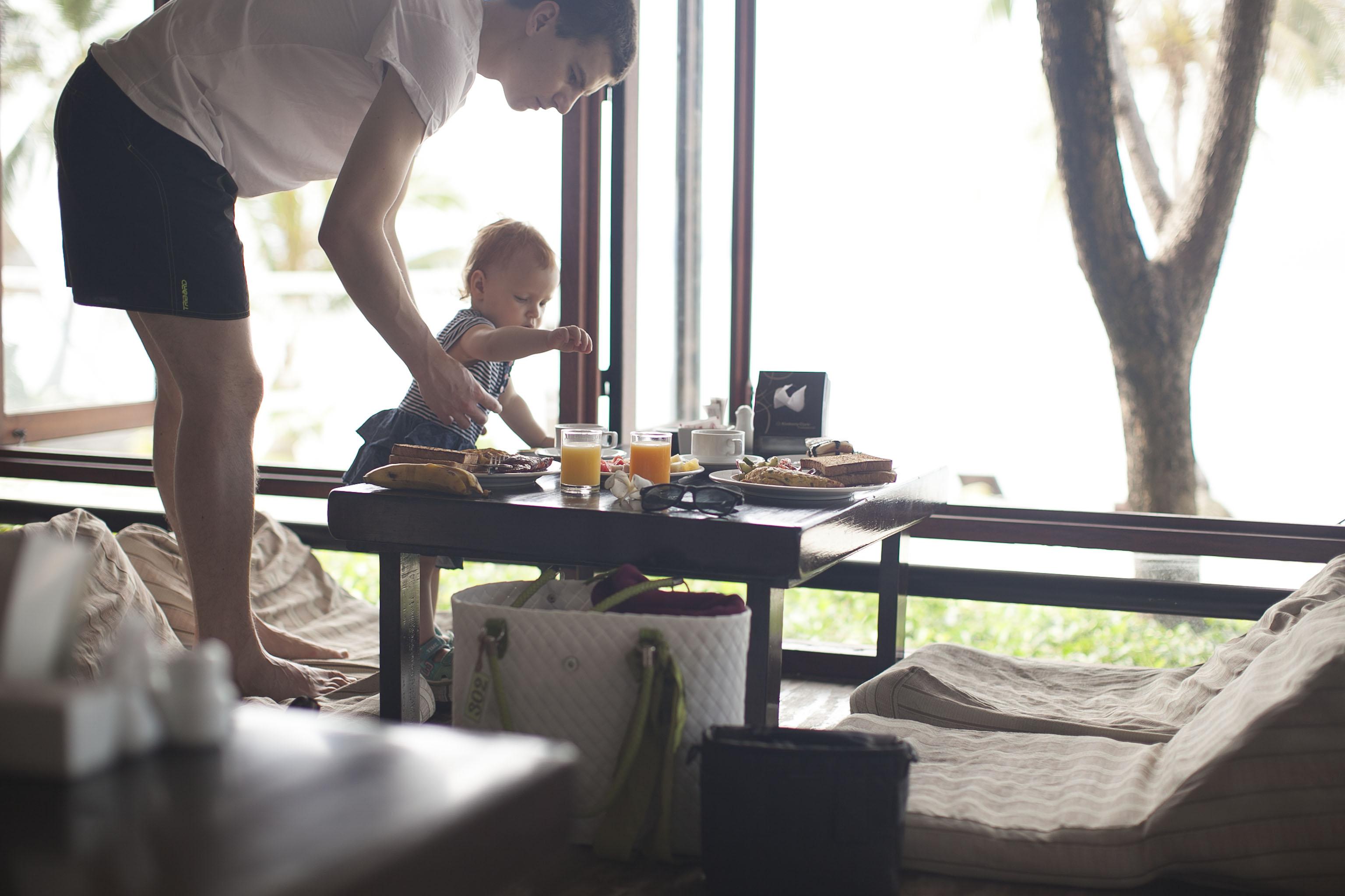 Breakfast in Cocohut