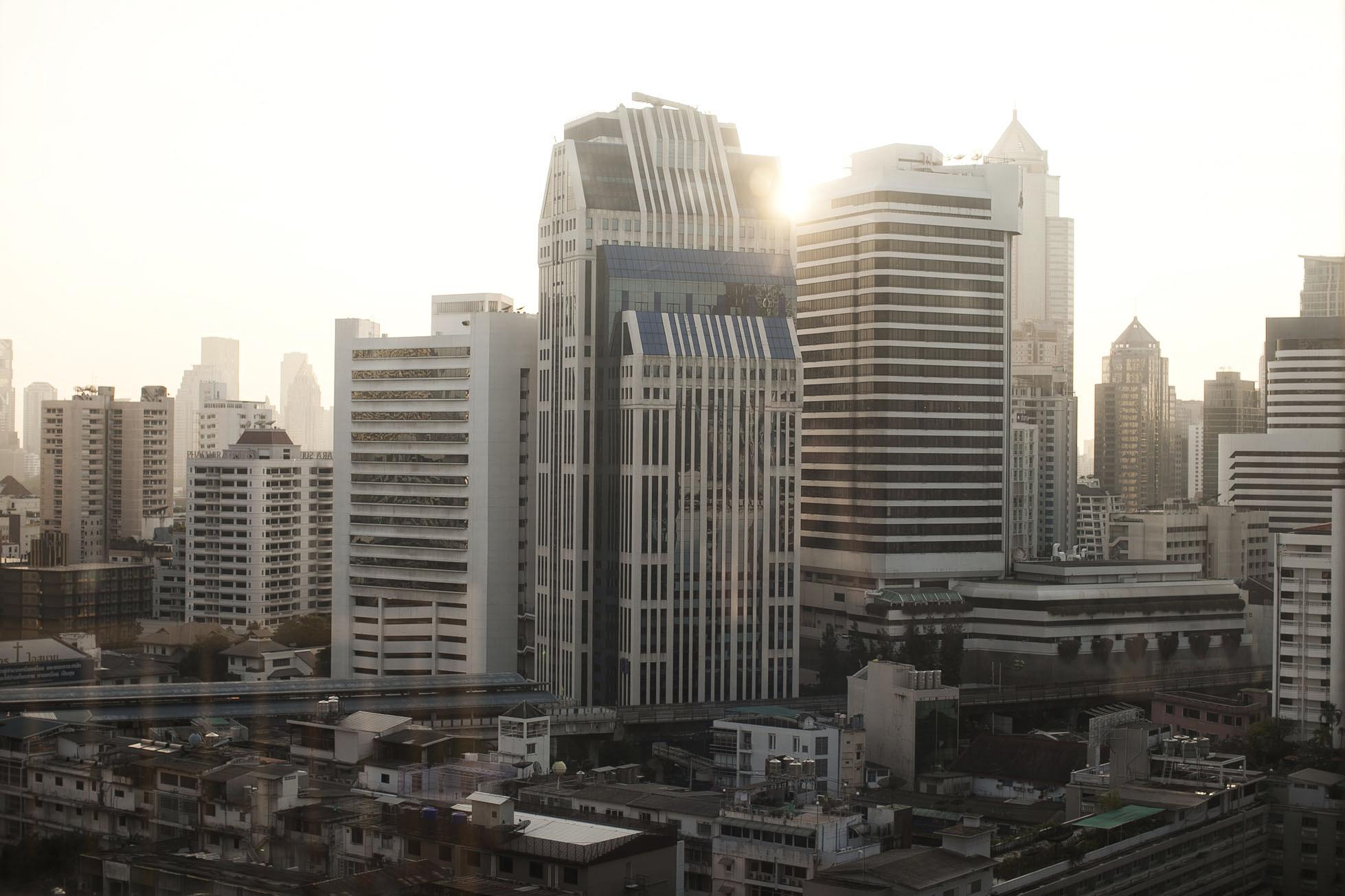 Bangkok, big city lights